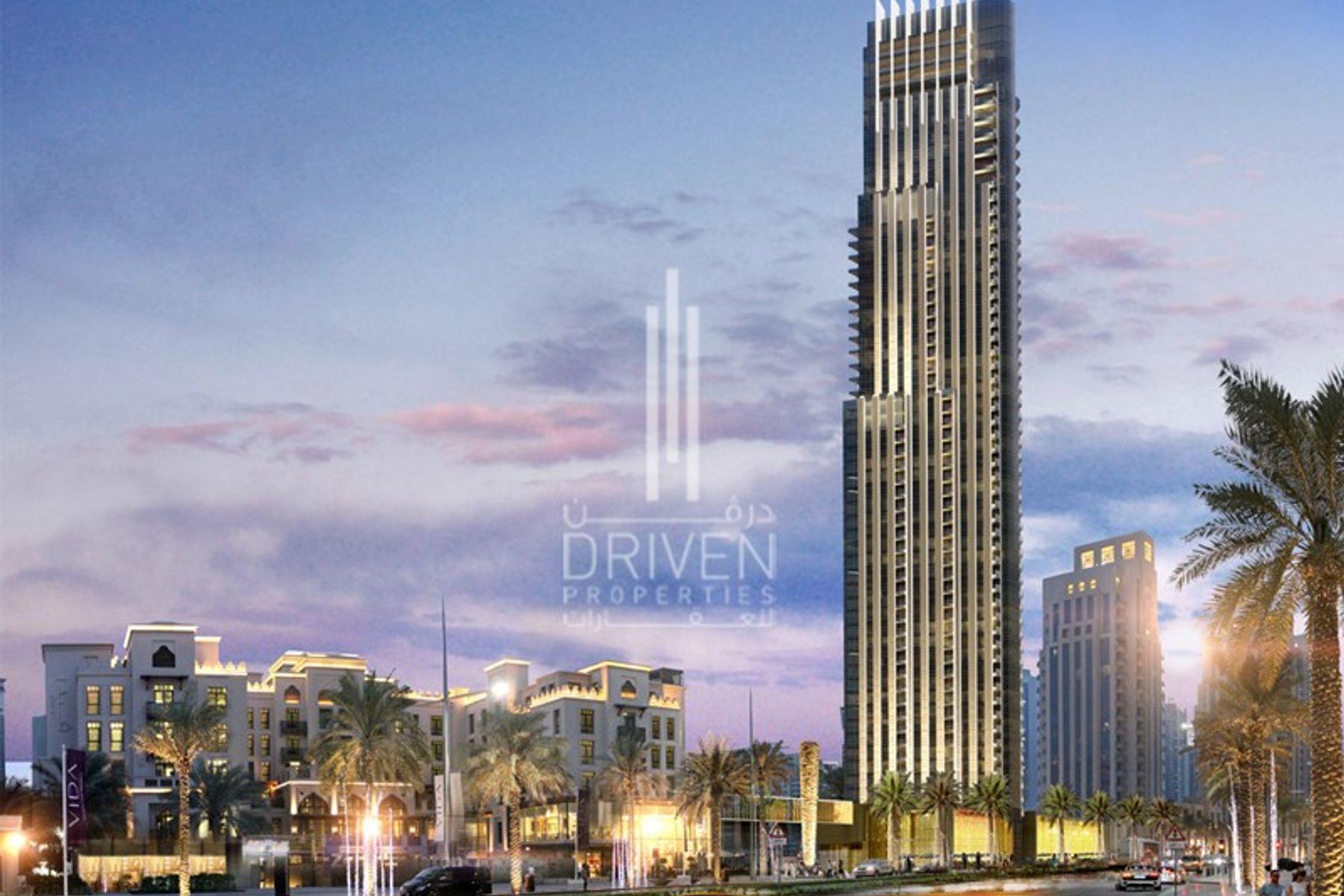4 Bedroom plus Maid's Burj Khalifa Views
