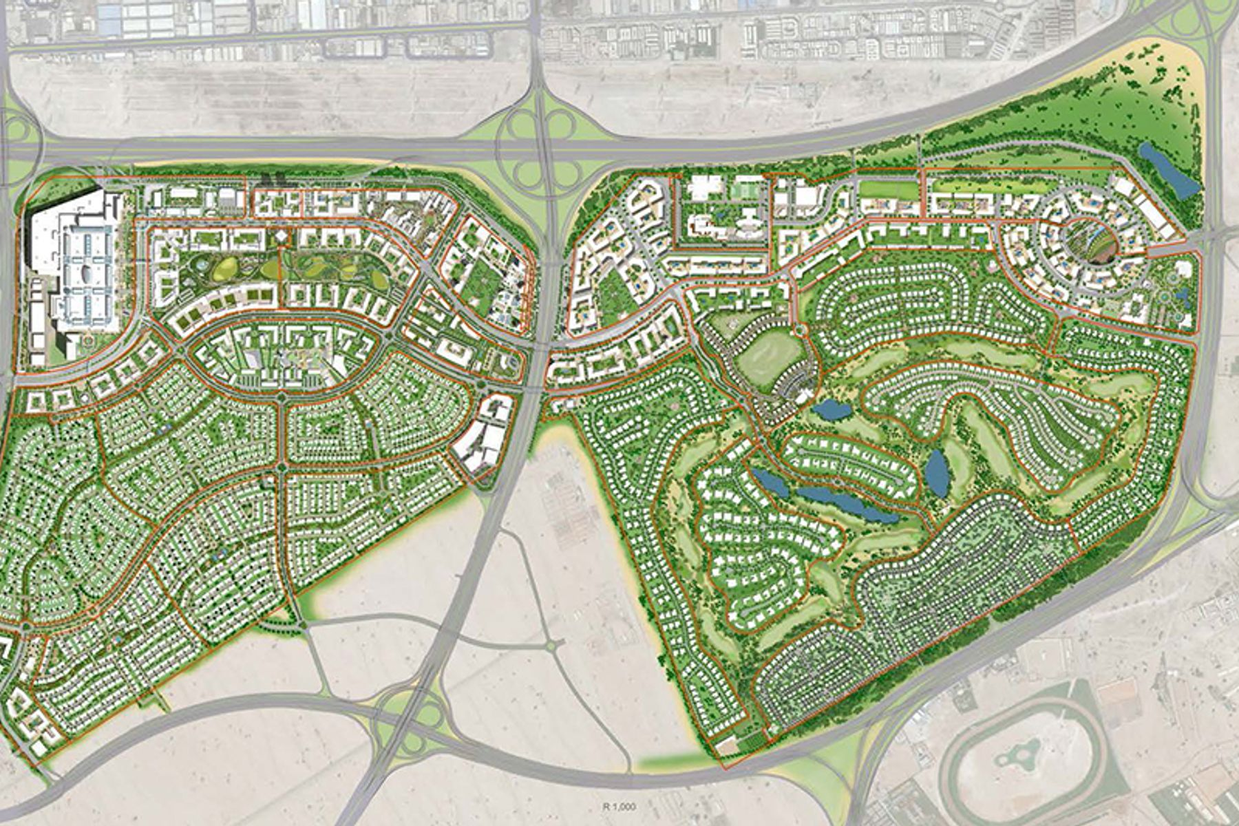 Land Commercial for Sale in Golf Place - Dubai Hills Estate