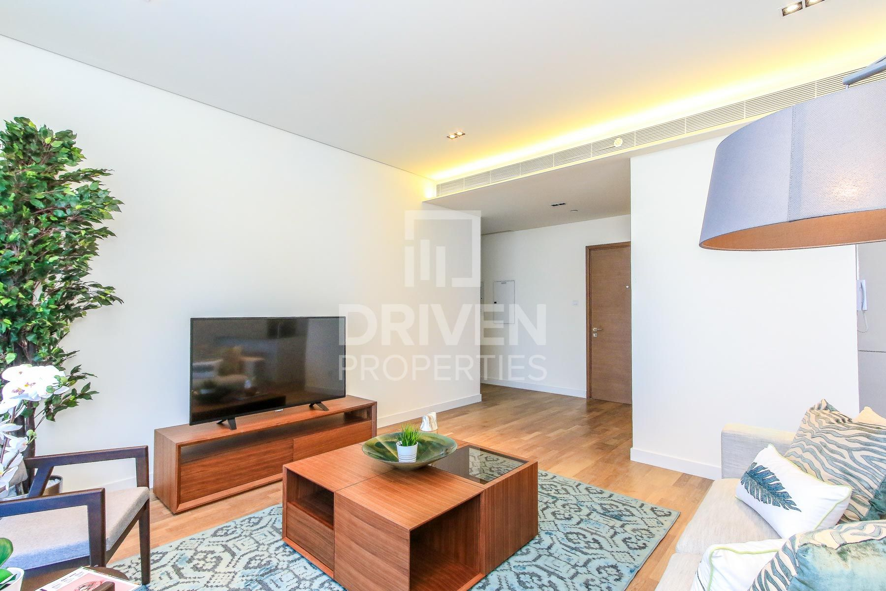 Furnished and High Floor with Burj Views