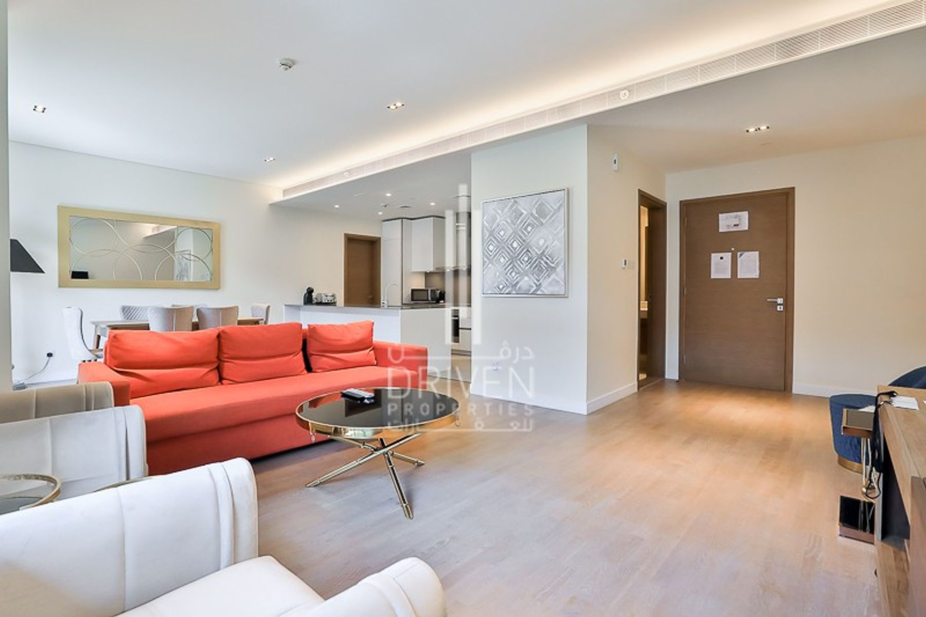 Bright Fully Furnished 2 BR in High Floor