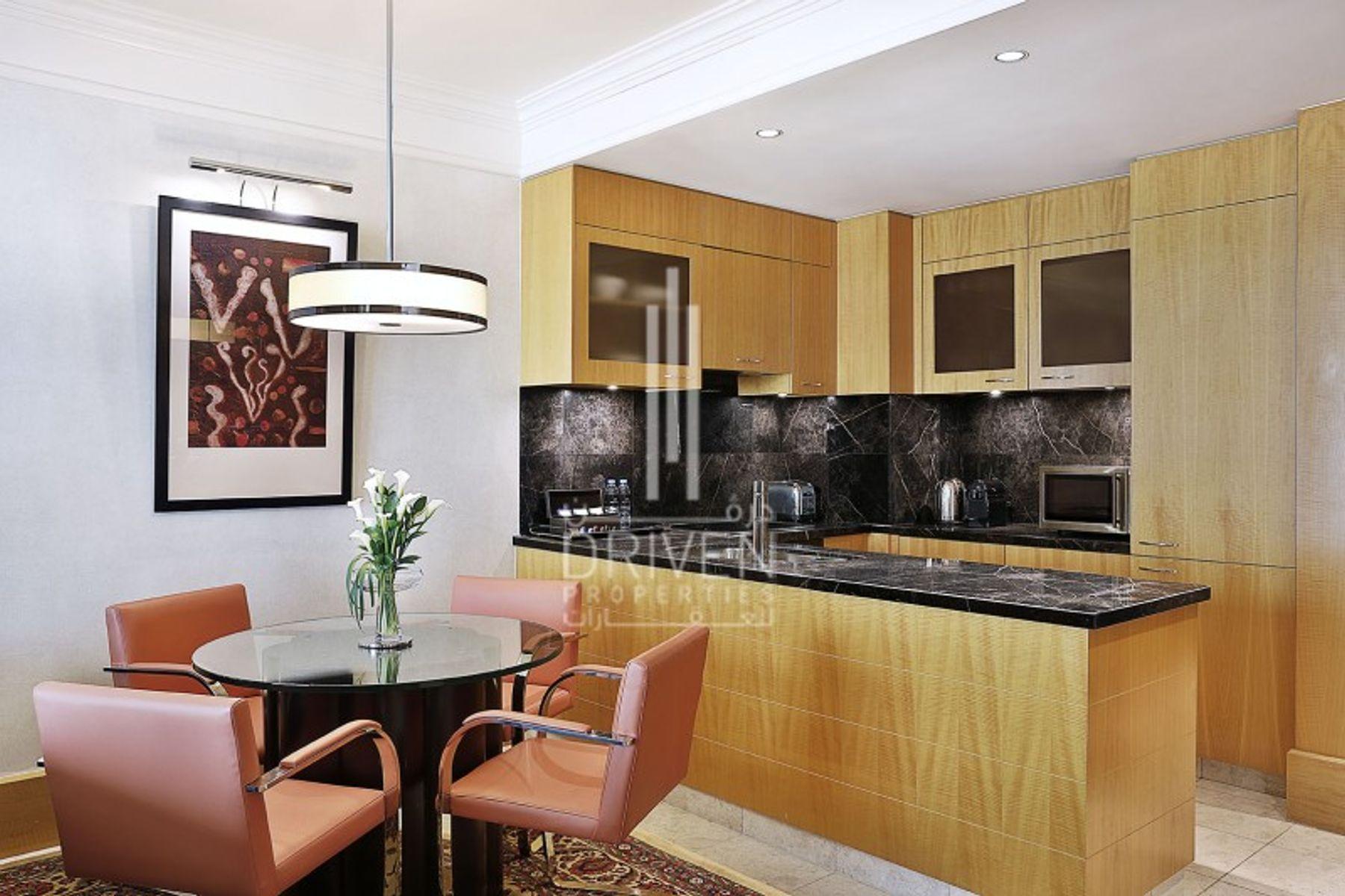 للايجار - شقة - ريتز كارلتون, مركز دبي المالي العالمي
