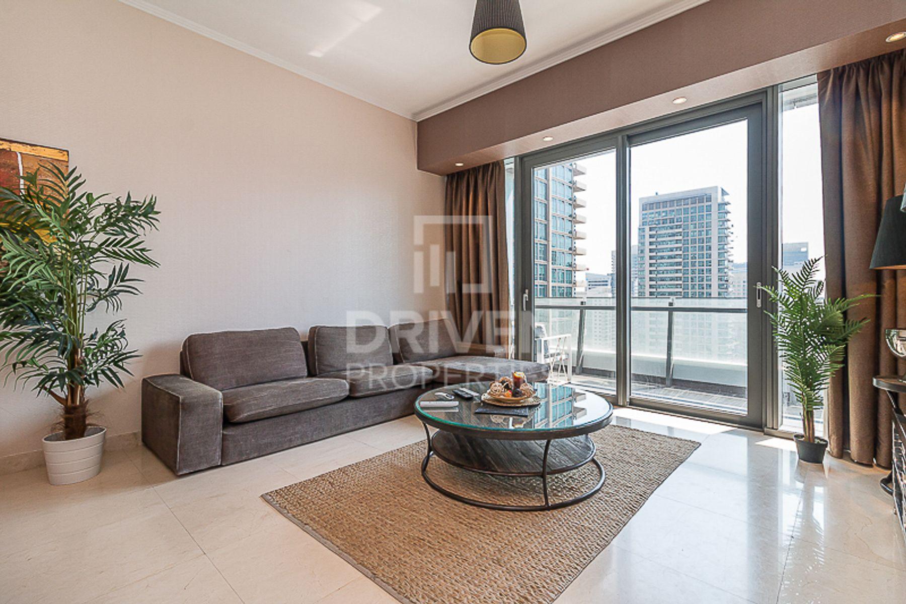 للايجار - شقة - A برج سيلفرين - دبي مارينا