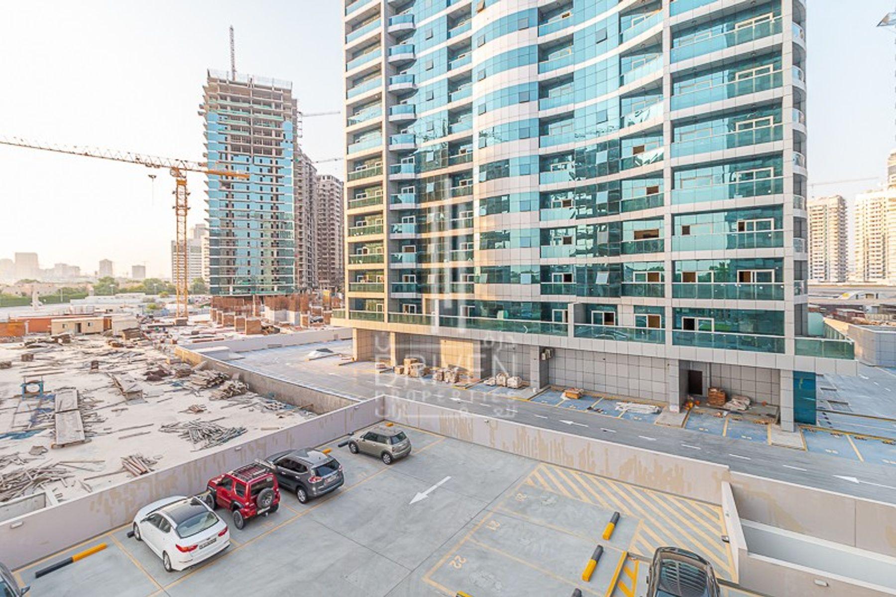 للبيع - ستوديو - برج ميداليست - مدينة دبي الرياضية