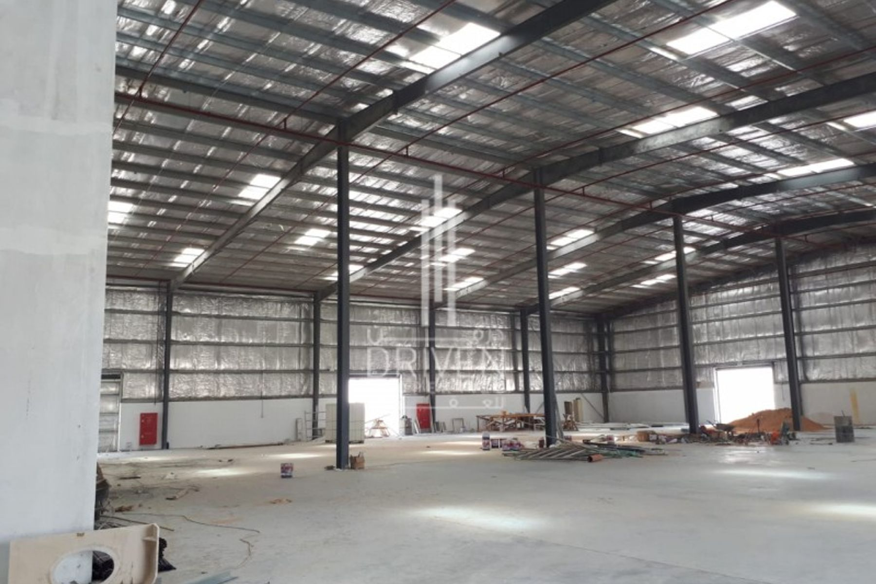 Affordable Priced Semi-fitted Warehouse