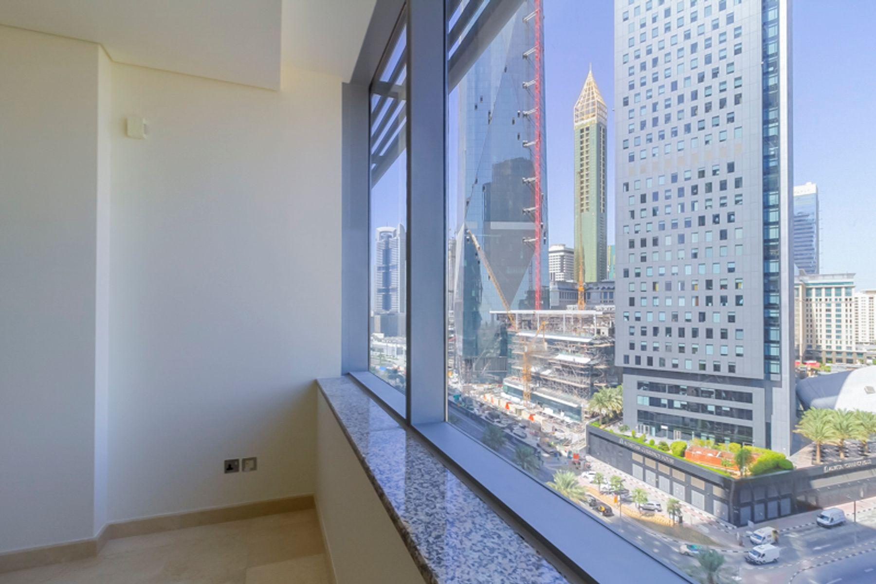 للايجار - شقة - سكاي جاردنز - مركز دبي المالي العالمي