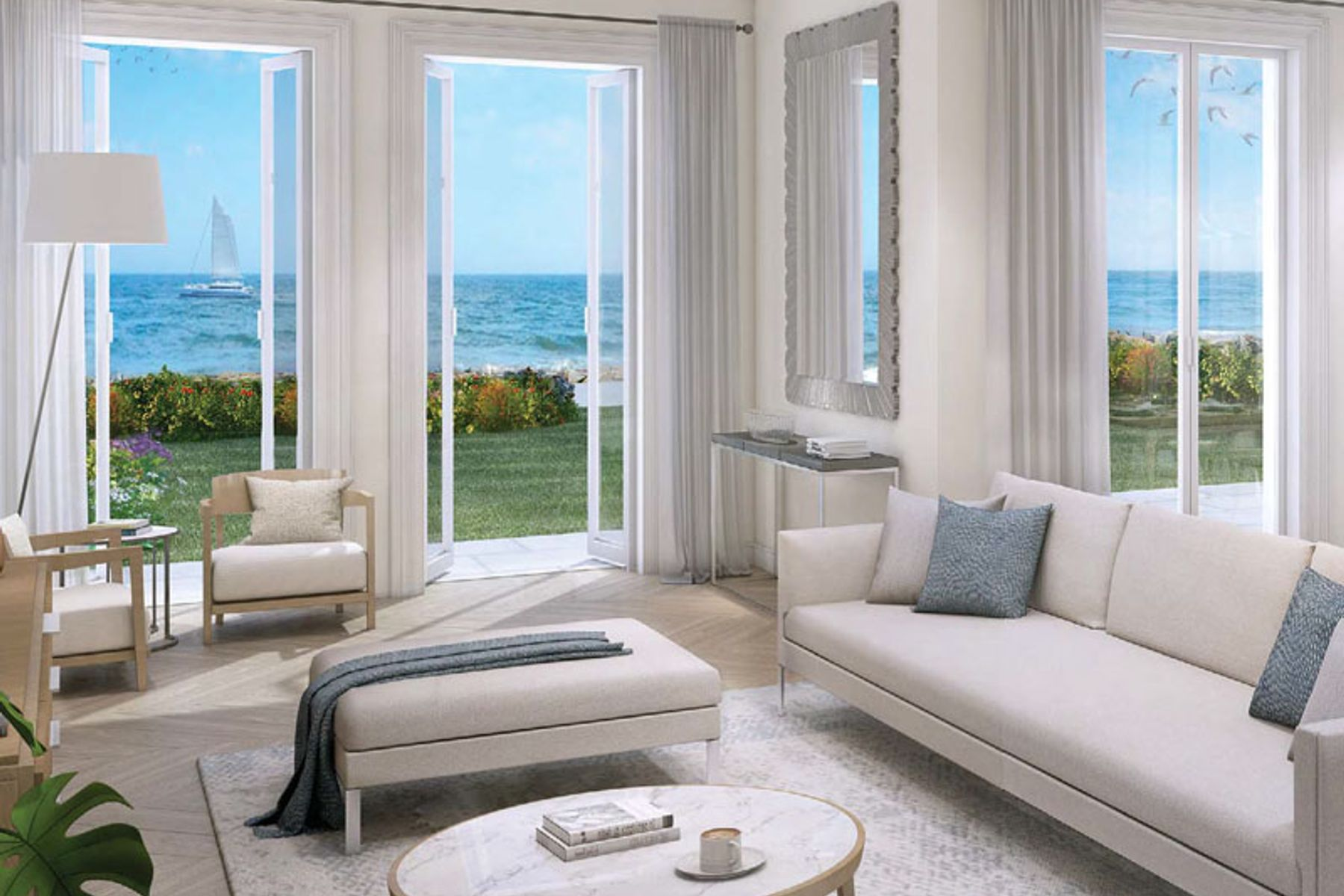 Luxurious 5 Bed | Sea and Sky Line Views