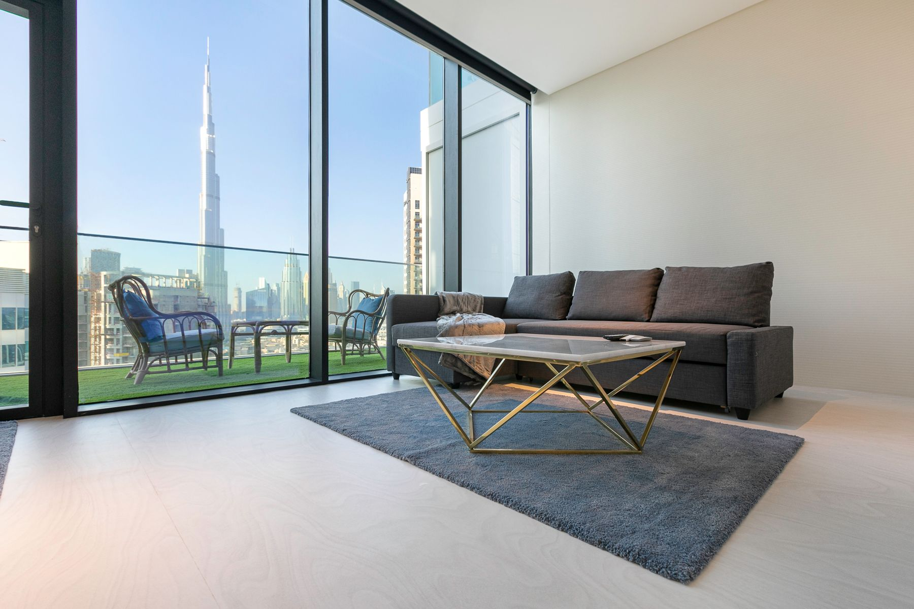 Superb Studio with Burj Khalifa View in Marquise Square, Business Bay Downtown