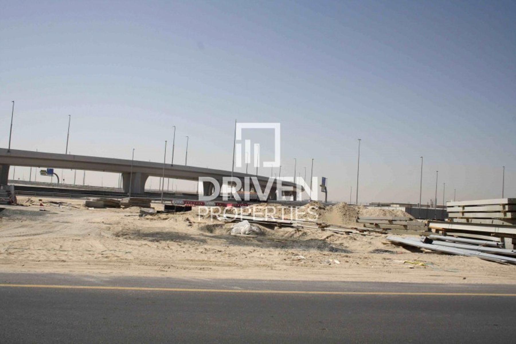 12,495 قدم مربع  أرض تجارية - للبيع - مجمع دبي للإستثمار