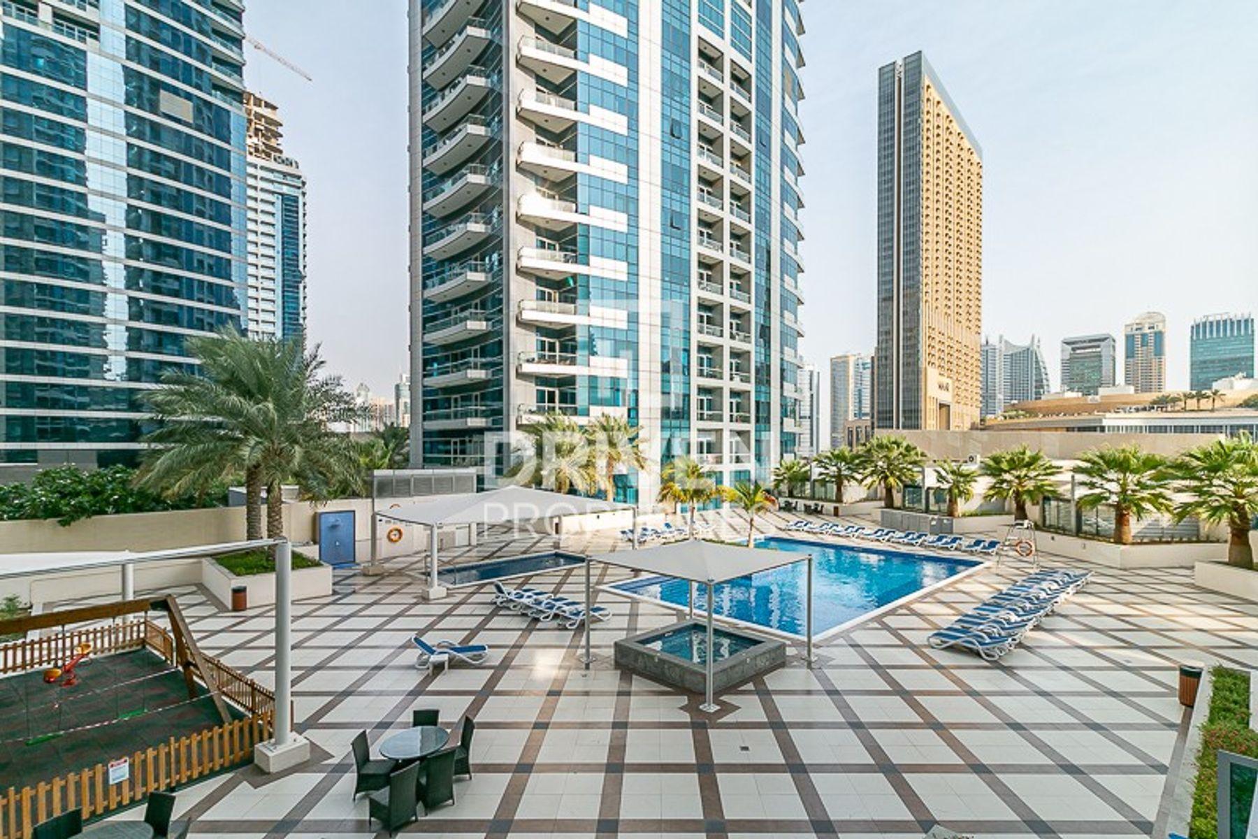 للايجار - شقة - باي سنترال غرب - دبي مارينا