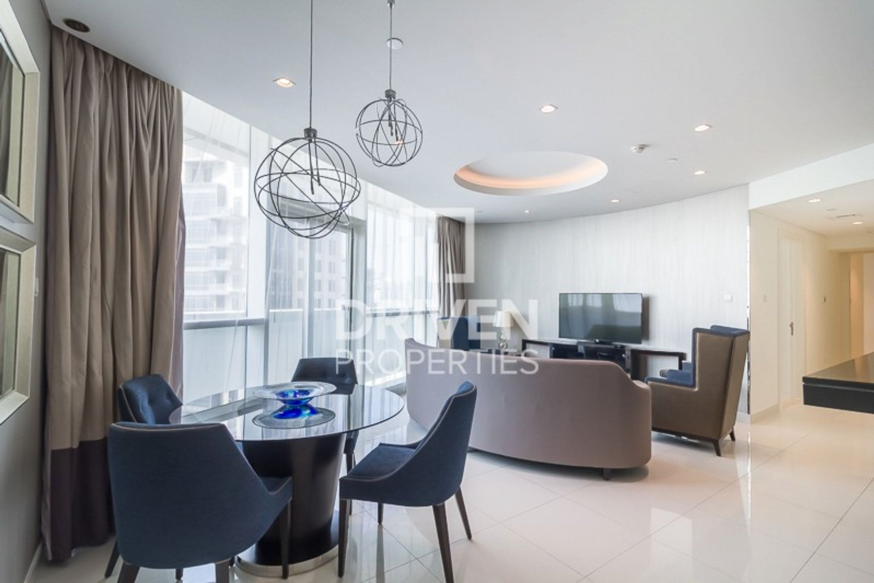 Furnished Unit | High Floor | Canal View
