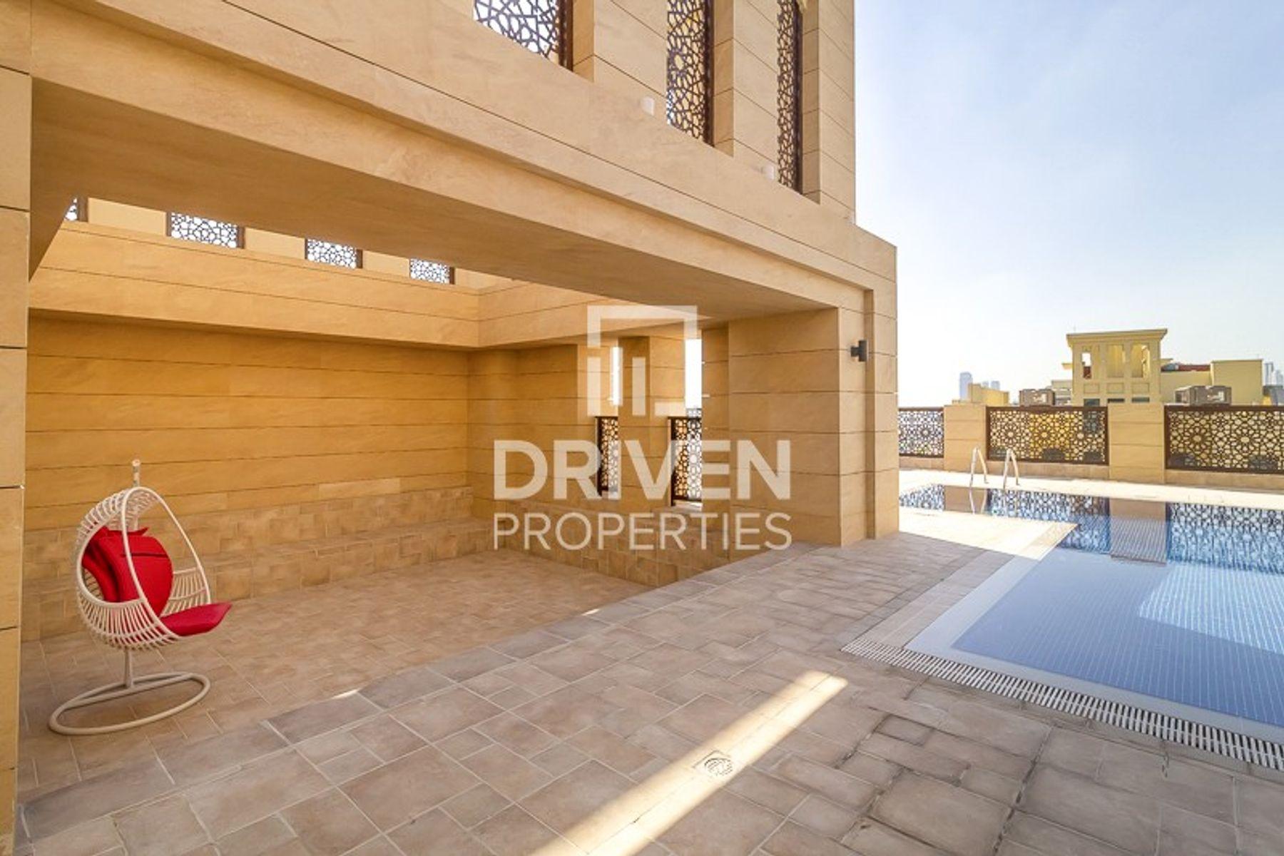 Apartment for Rent in Al Rimmal Residences - Al Jaddaf