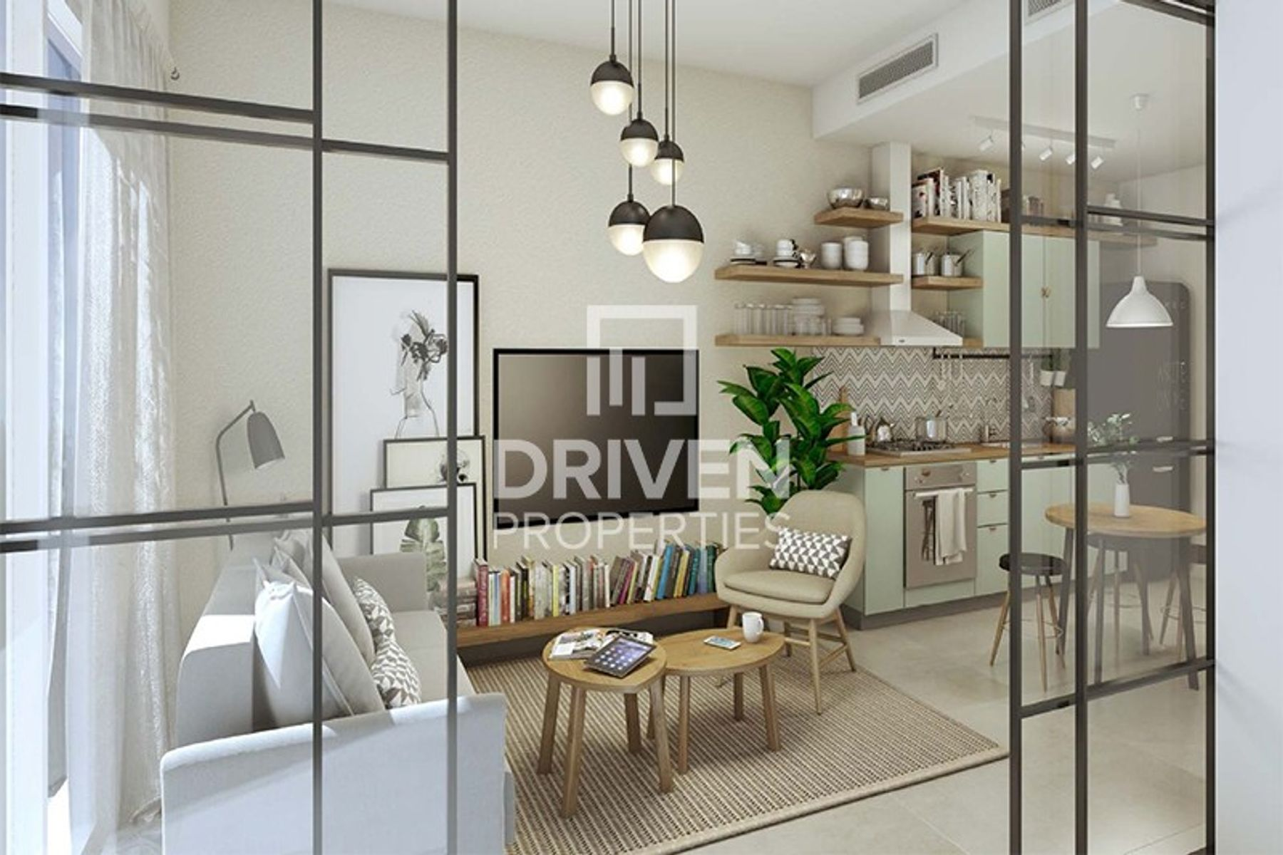 Contemporary Designed 1 Bedroom Apartment