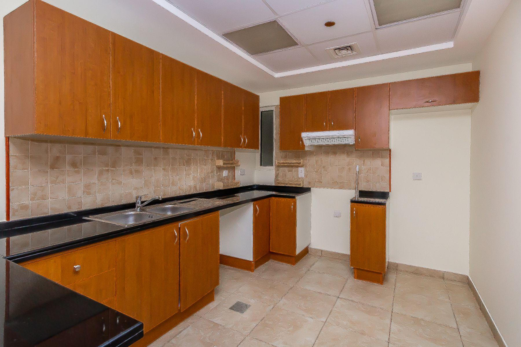 للايجار - شقة - طراز فينيسيا - مدينة دبي الرياضية