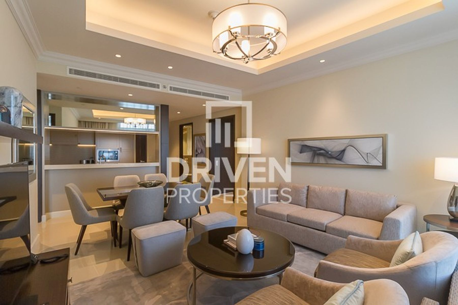 Brand New 2 Bed Apt with Burj Khalifa View