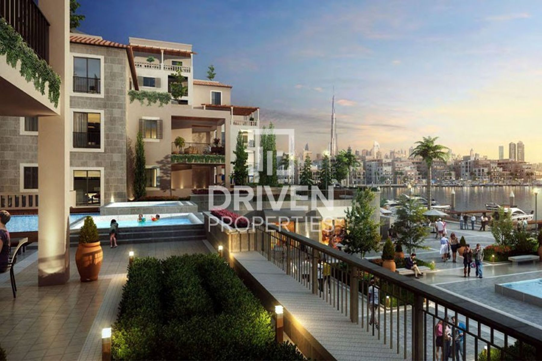 2 Bedroom Apartment with Unobstructed View