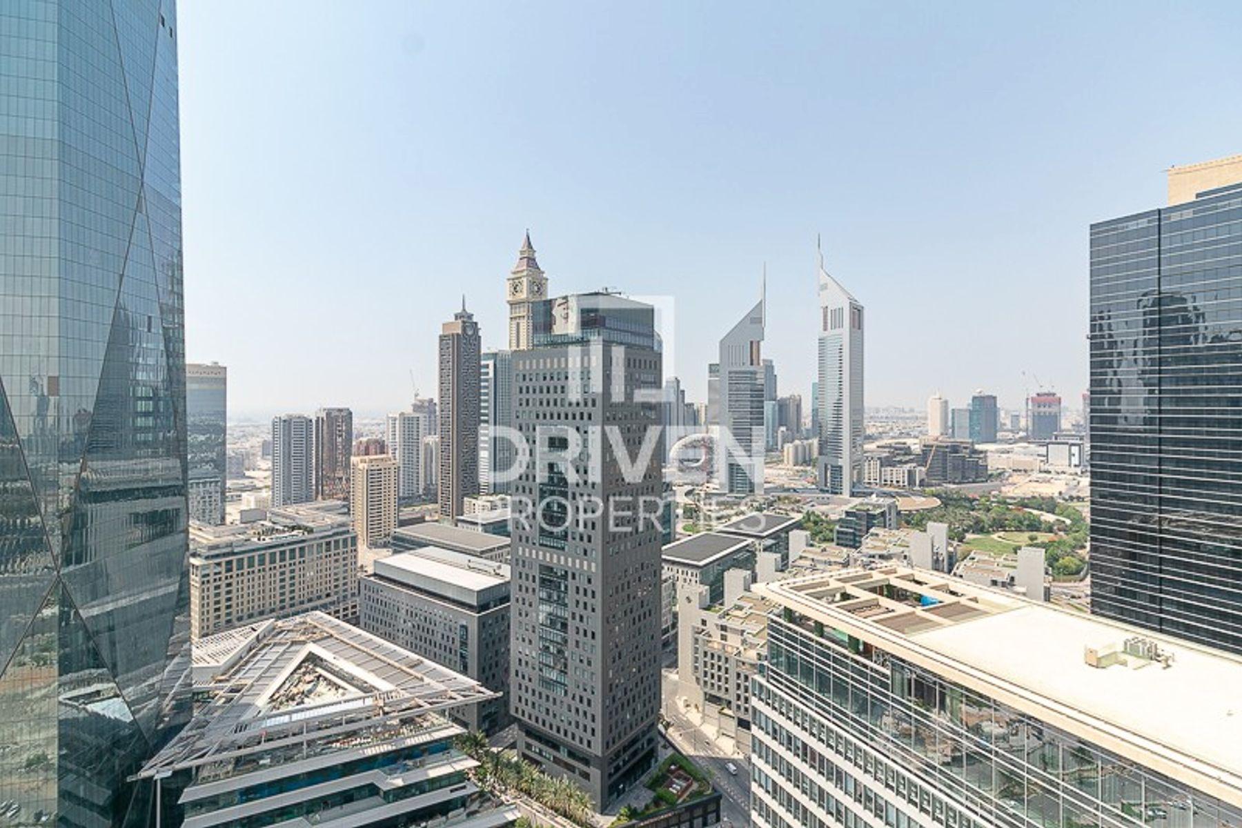 للبيع - شقة - برج ضمان - مركز دبي المالي العالمي