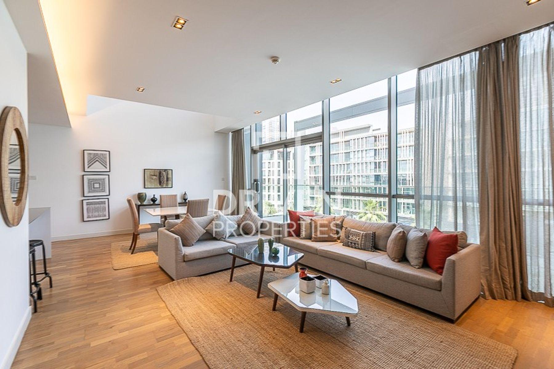 Duplex Furnished Apt with Burj Khalifa Views