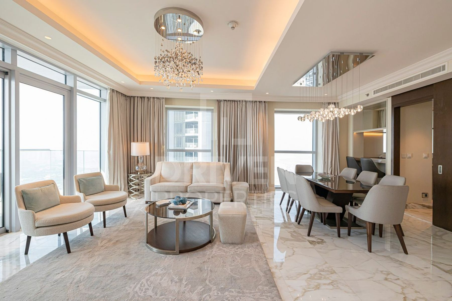 Luxurious and High Floor | Fountain View