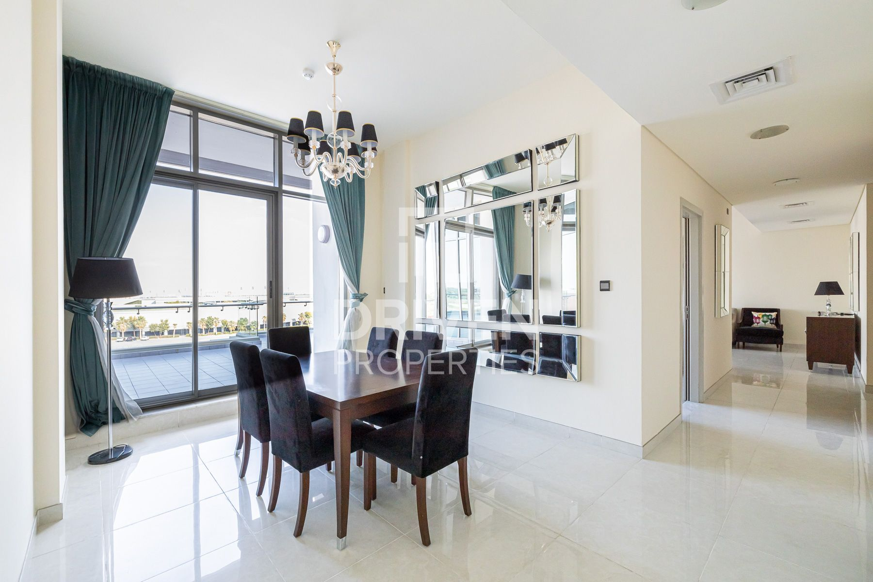 Penthouse for Rent in The Polo Residence - Meydan