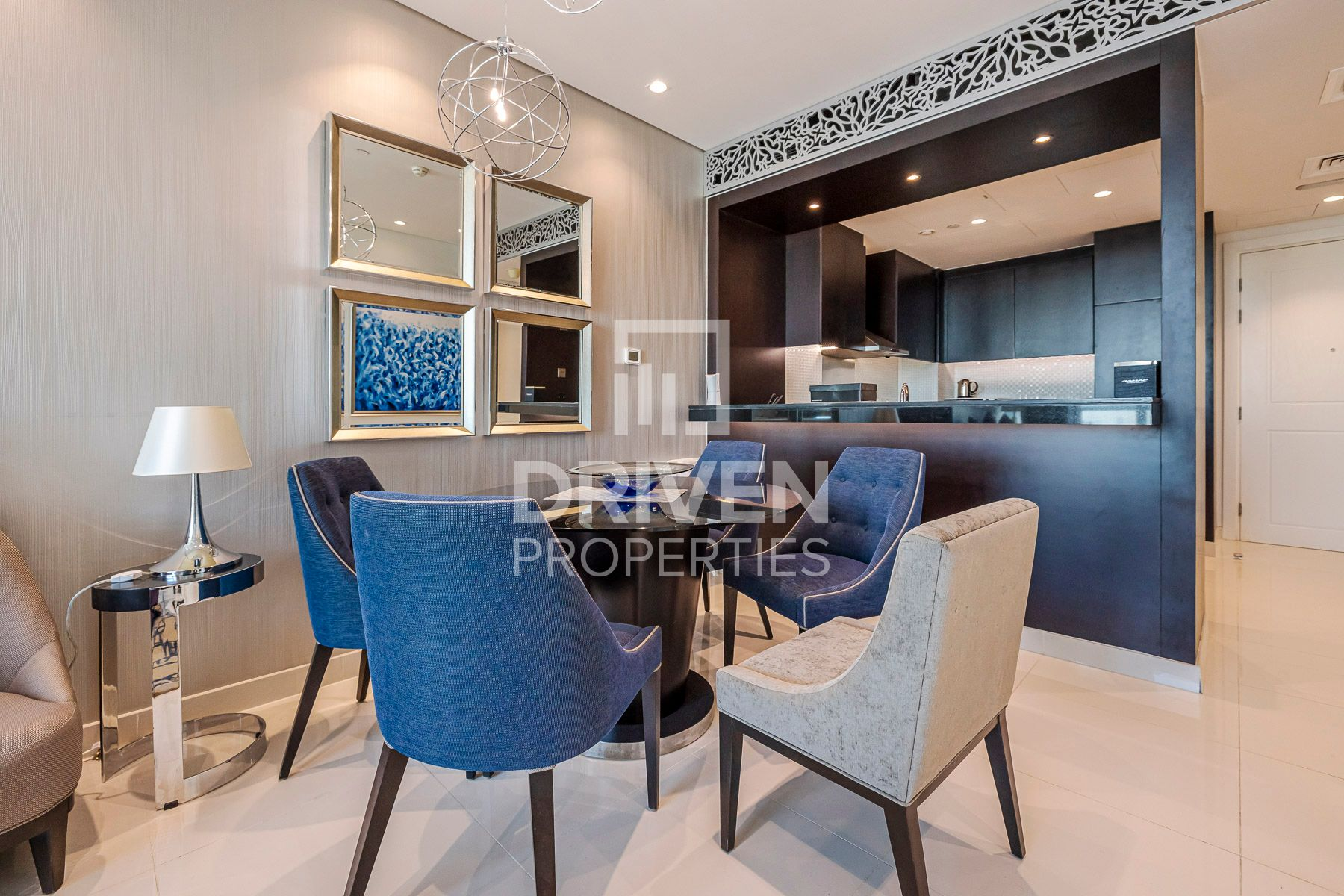 On High Floor and Furnished | Canal View