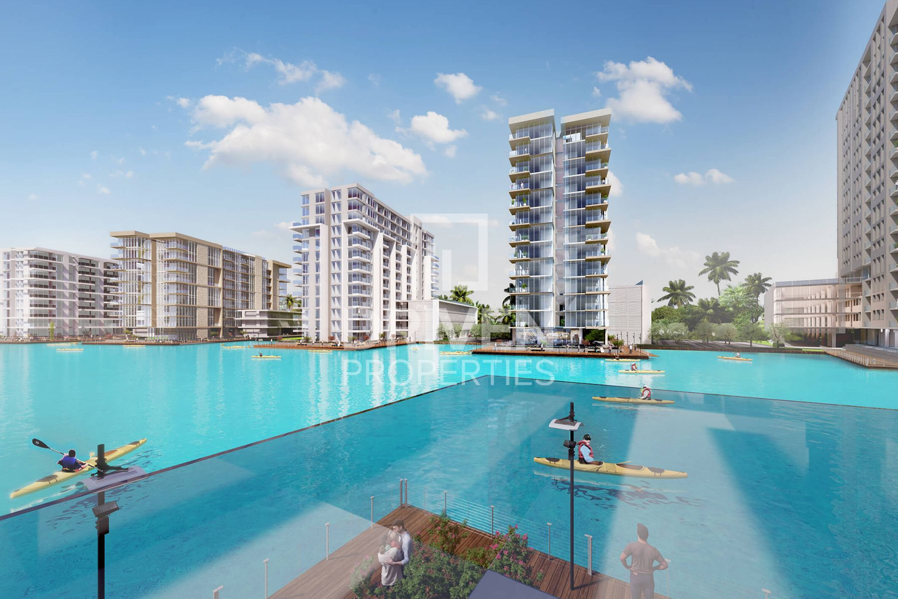 G+6 Whole Building | Crystal Lagoon View