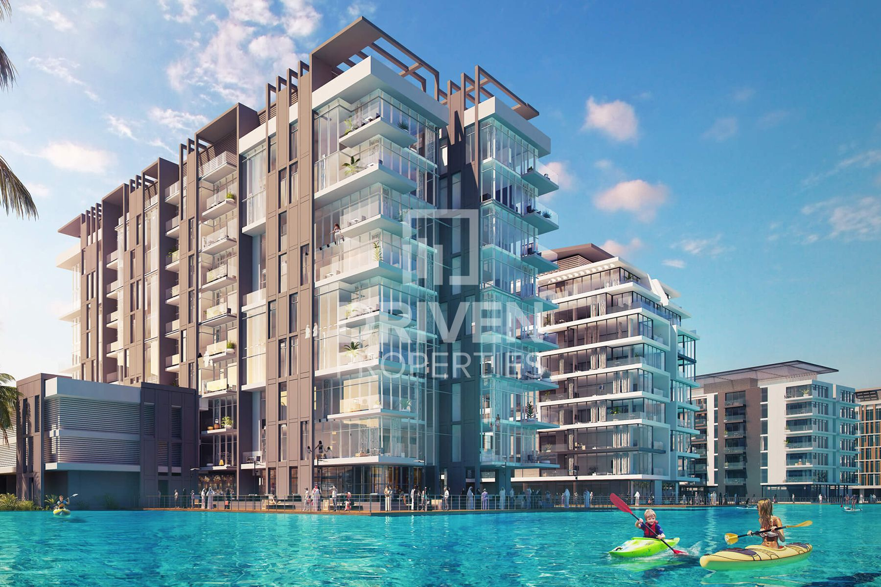 G+4 Whole Building | Private Beach Access