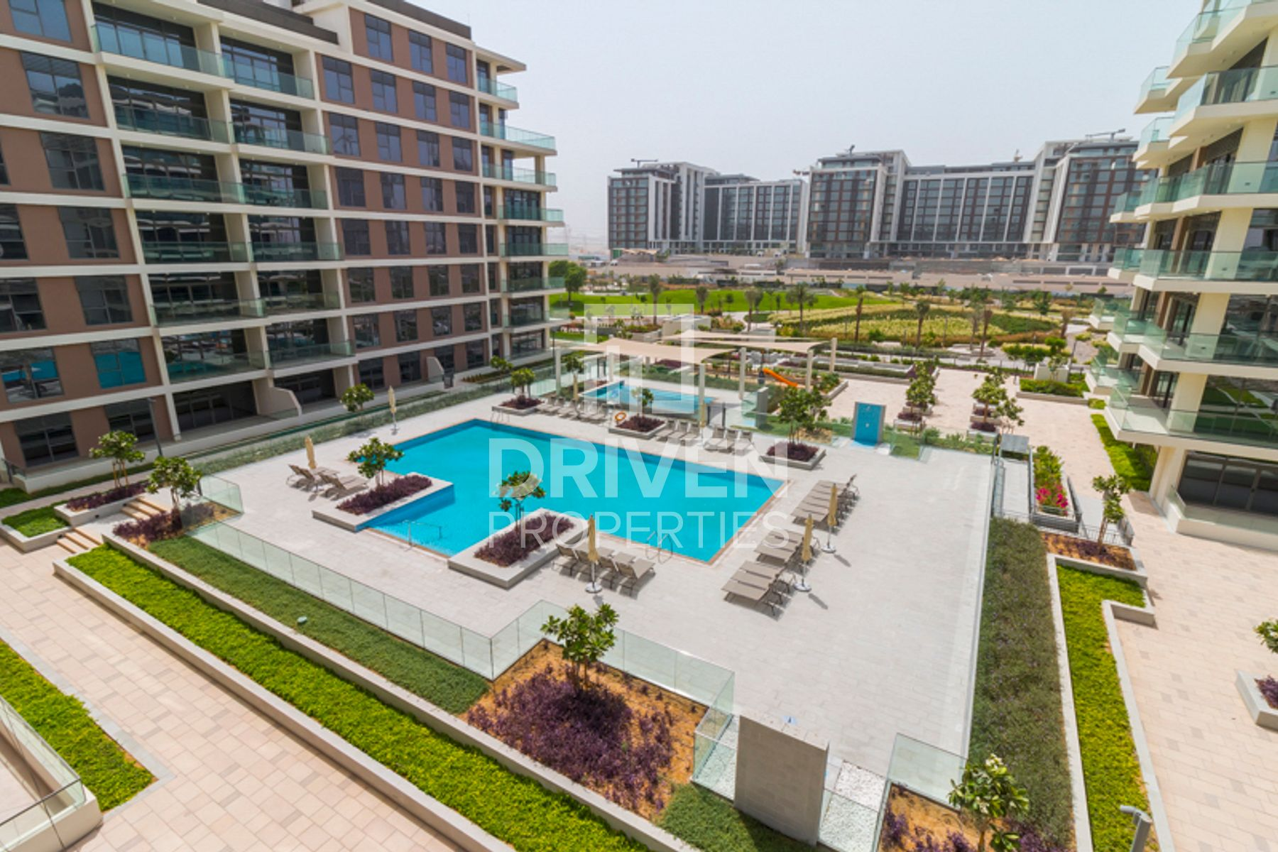 Last vacant unit with Park and Pool View