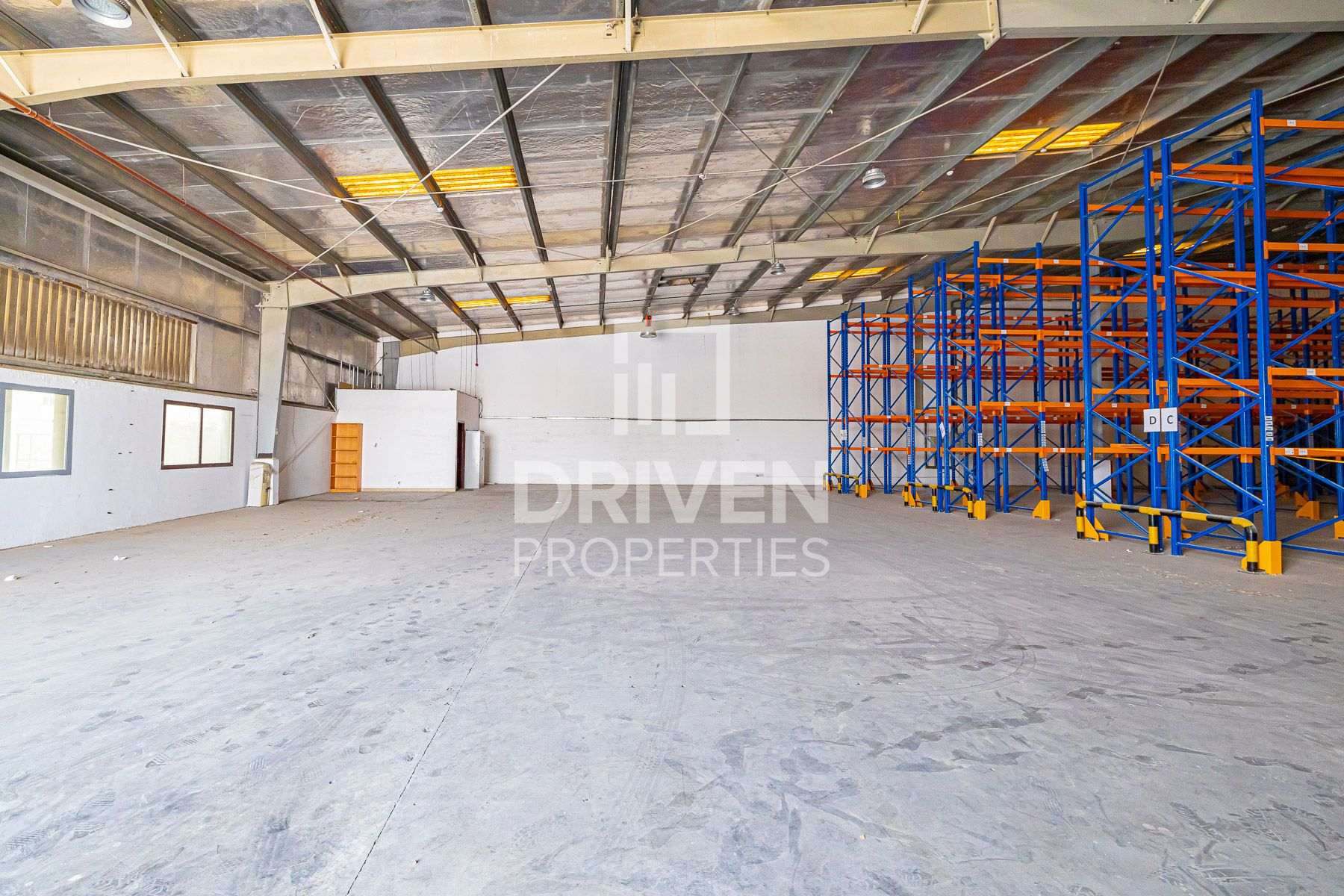 Independent and Partly Furnished Warehouse