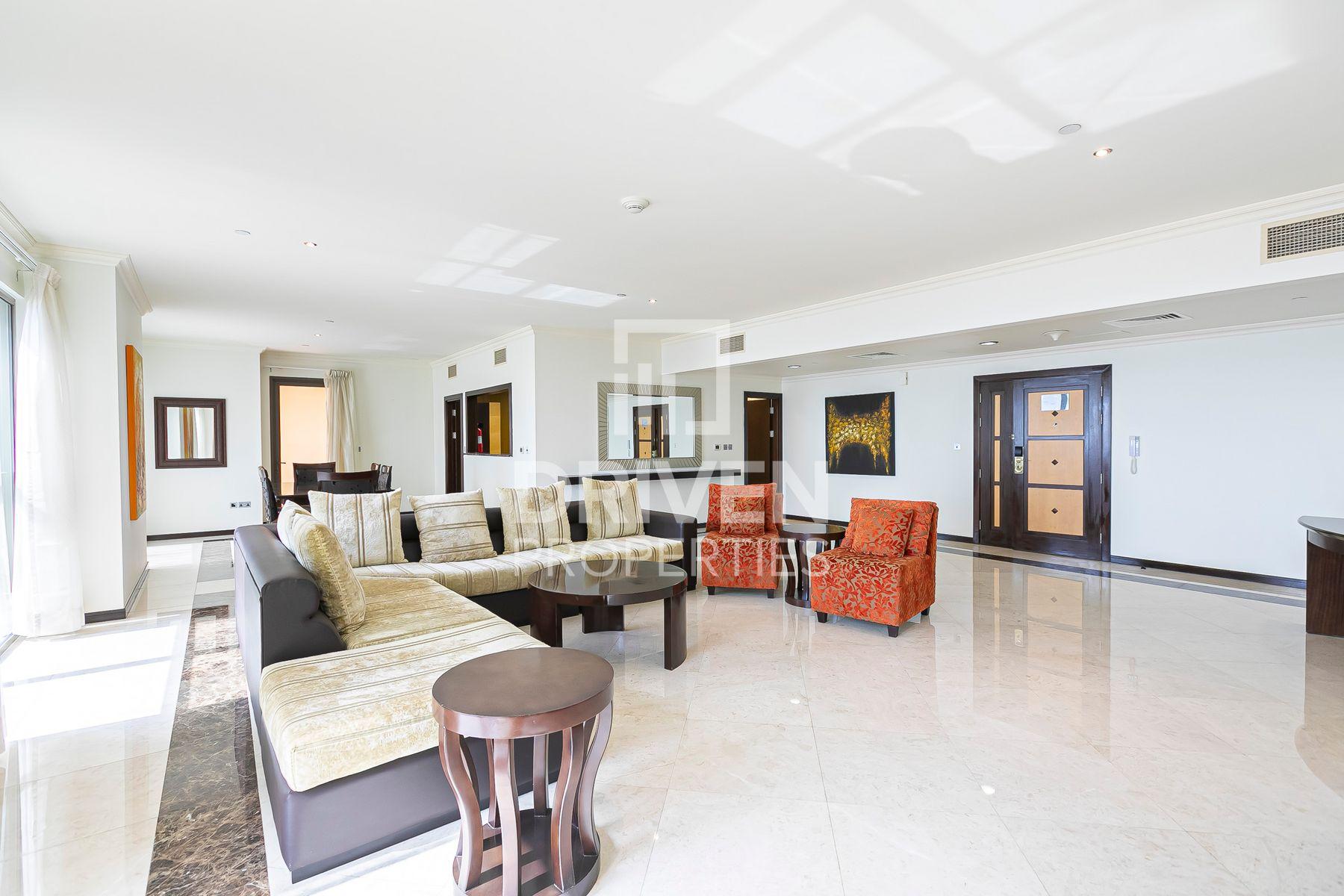 2,653 قدم مربع  شقة - للايجار - مساكن شاطئ الجميرا
