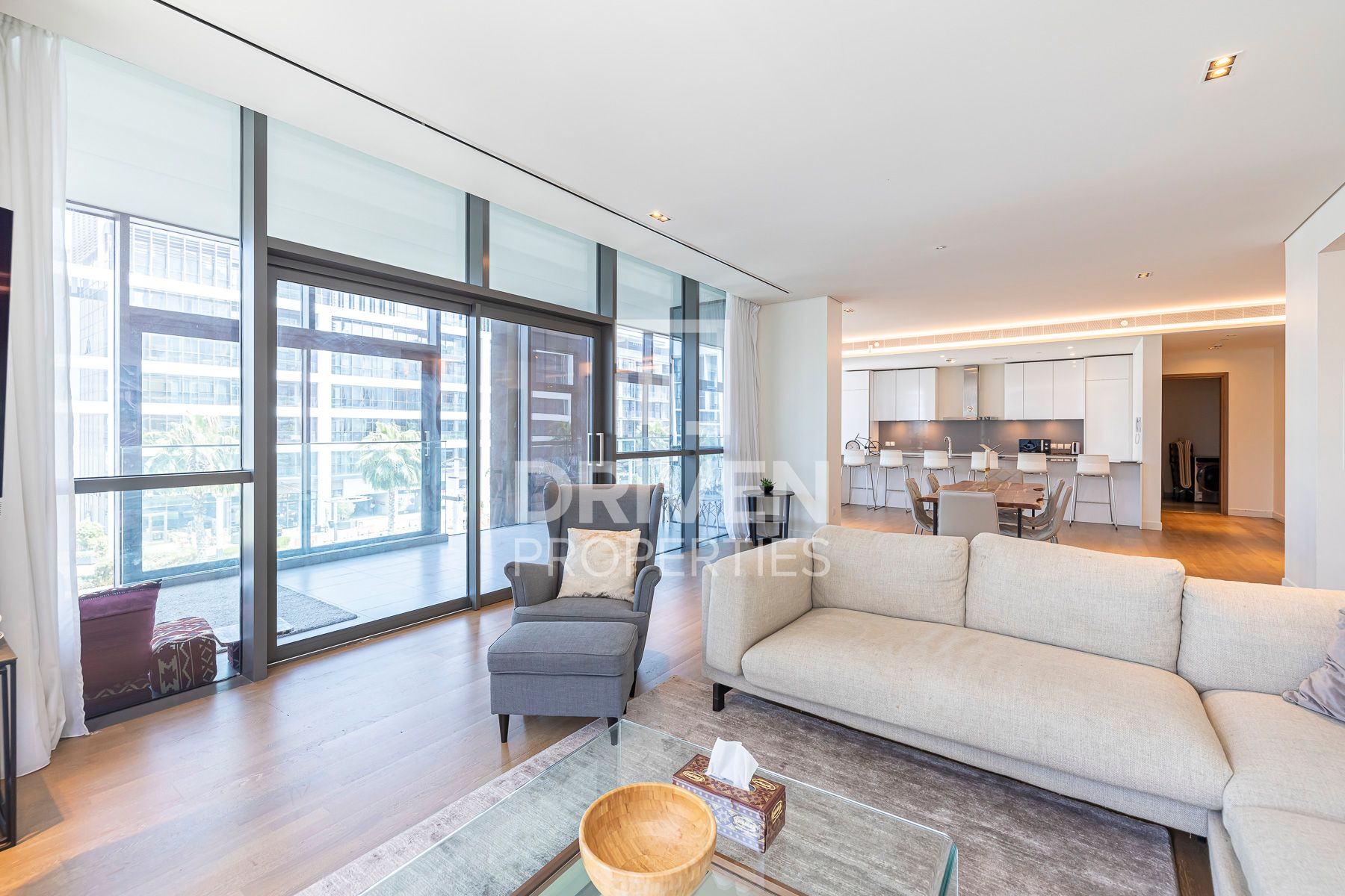 Furnished with Terrace | Boulevard Views