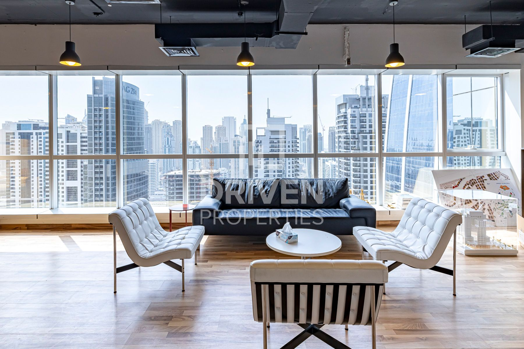 High Floor, Fitted office with Lake Views