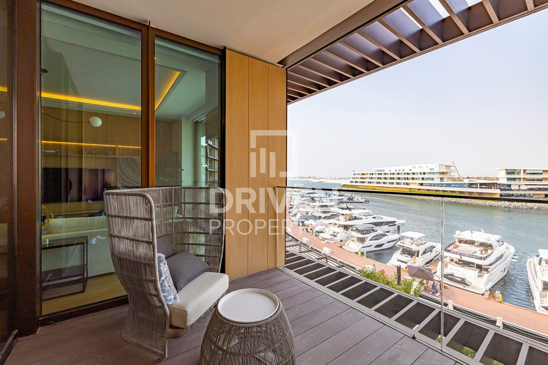 Elegant High End Furniture with Marina View