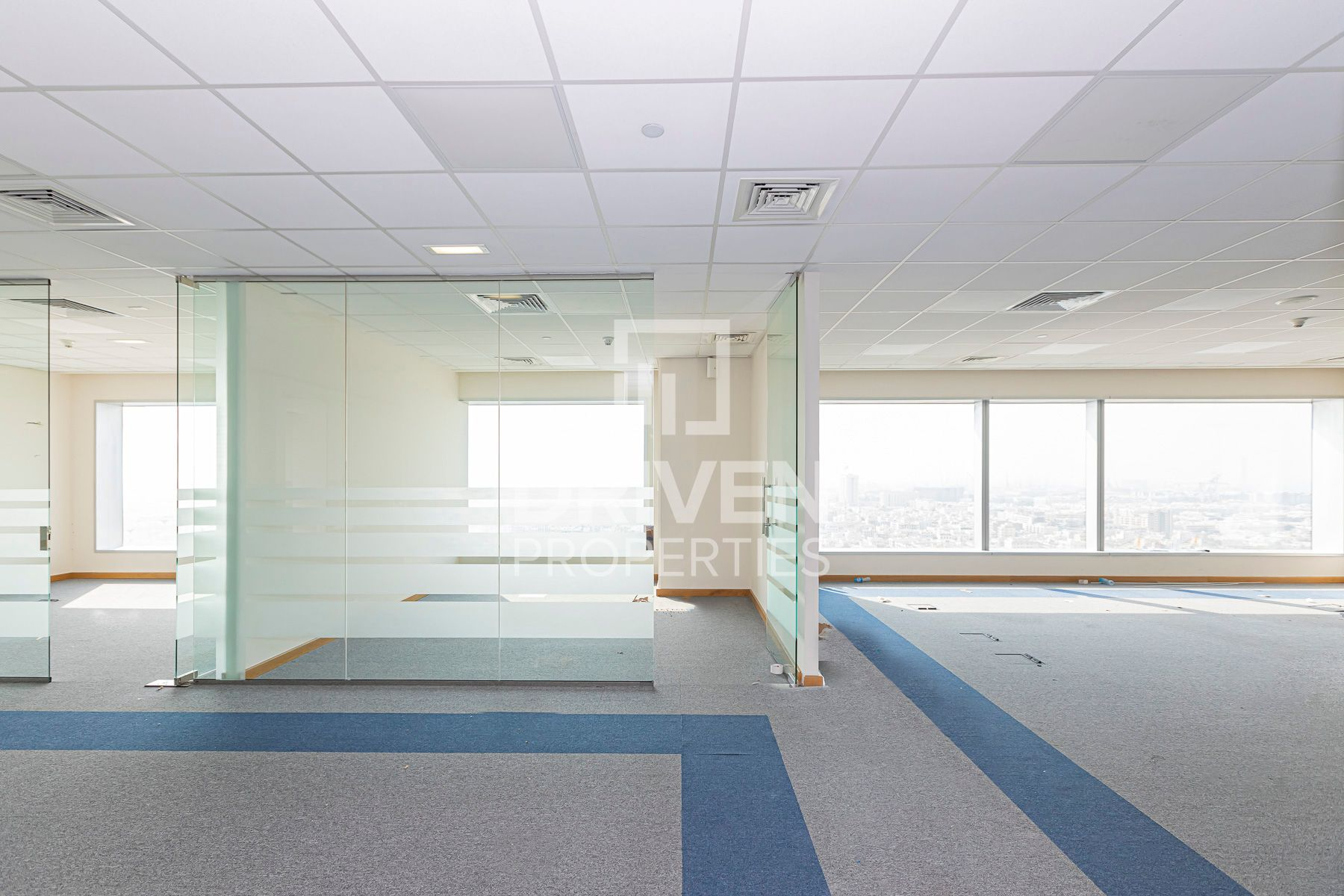 Fitted Office w/ Partition | Sea Side View