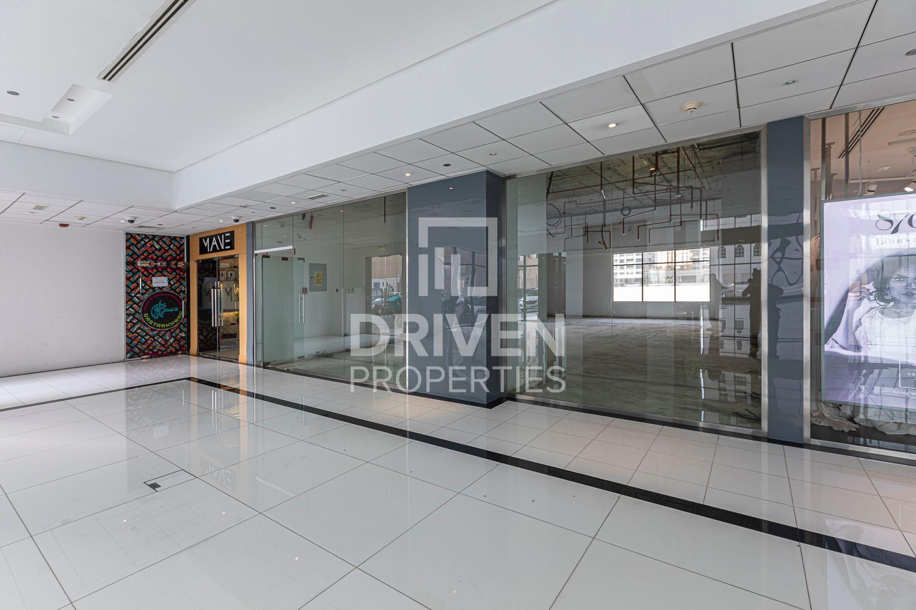 Spacious Retail Shop | Prime Location in JLT
