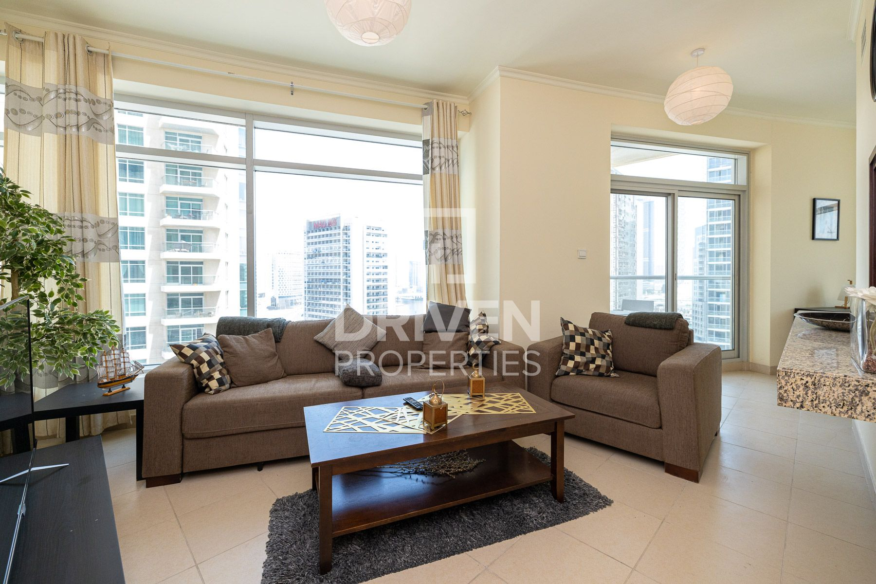 Fully Furnished | Burj View | Chiller Free