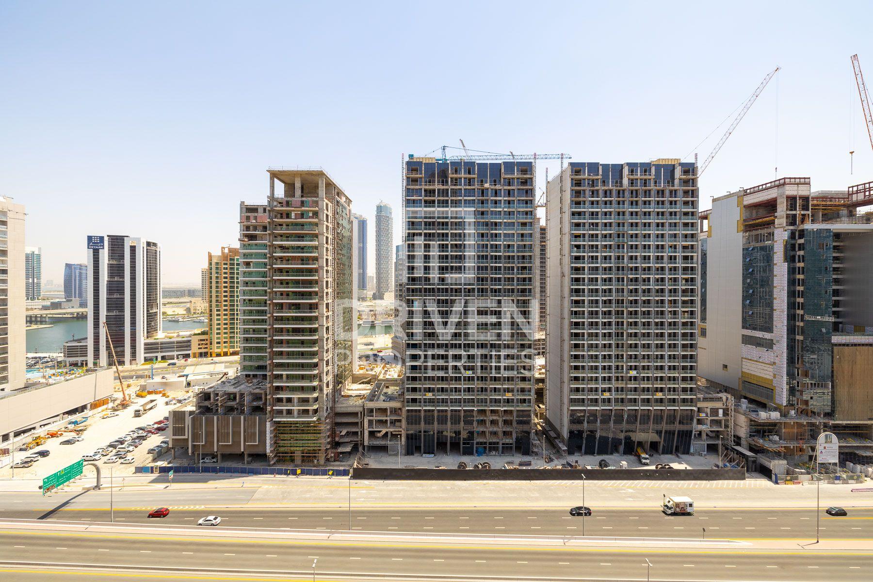 للبيع - شقة - A برج فيوز - دبي وسط المدينة