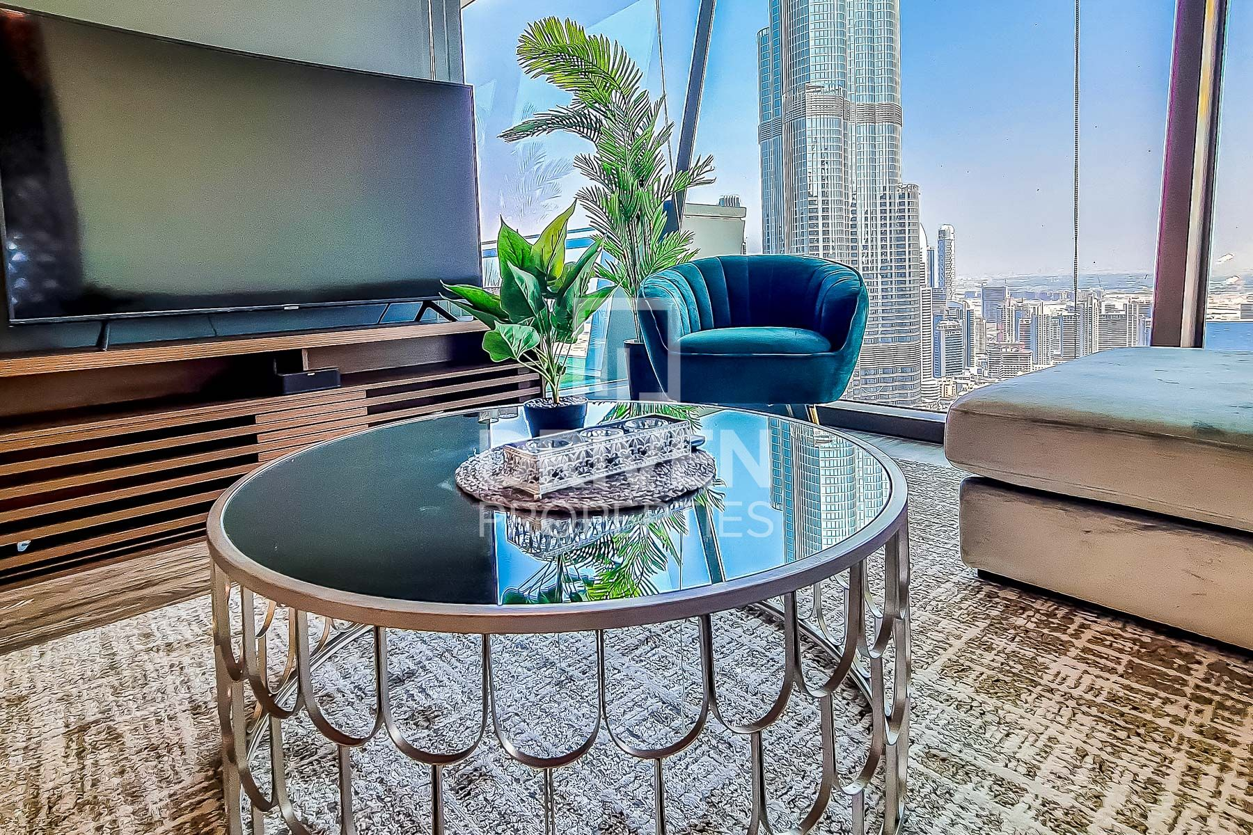 Stunning | Furnished |  Burj Khalifa View