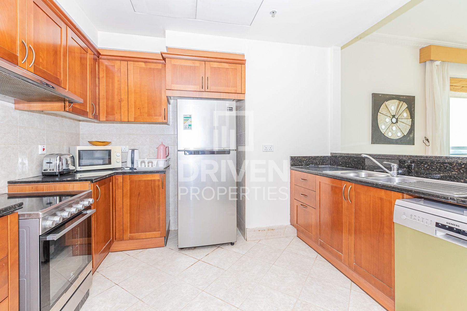 للايجار - شقة - برج المرجان - دبي مارينا
