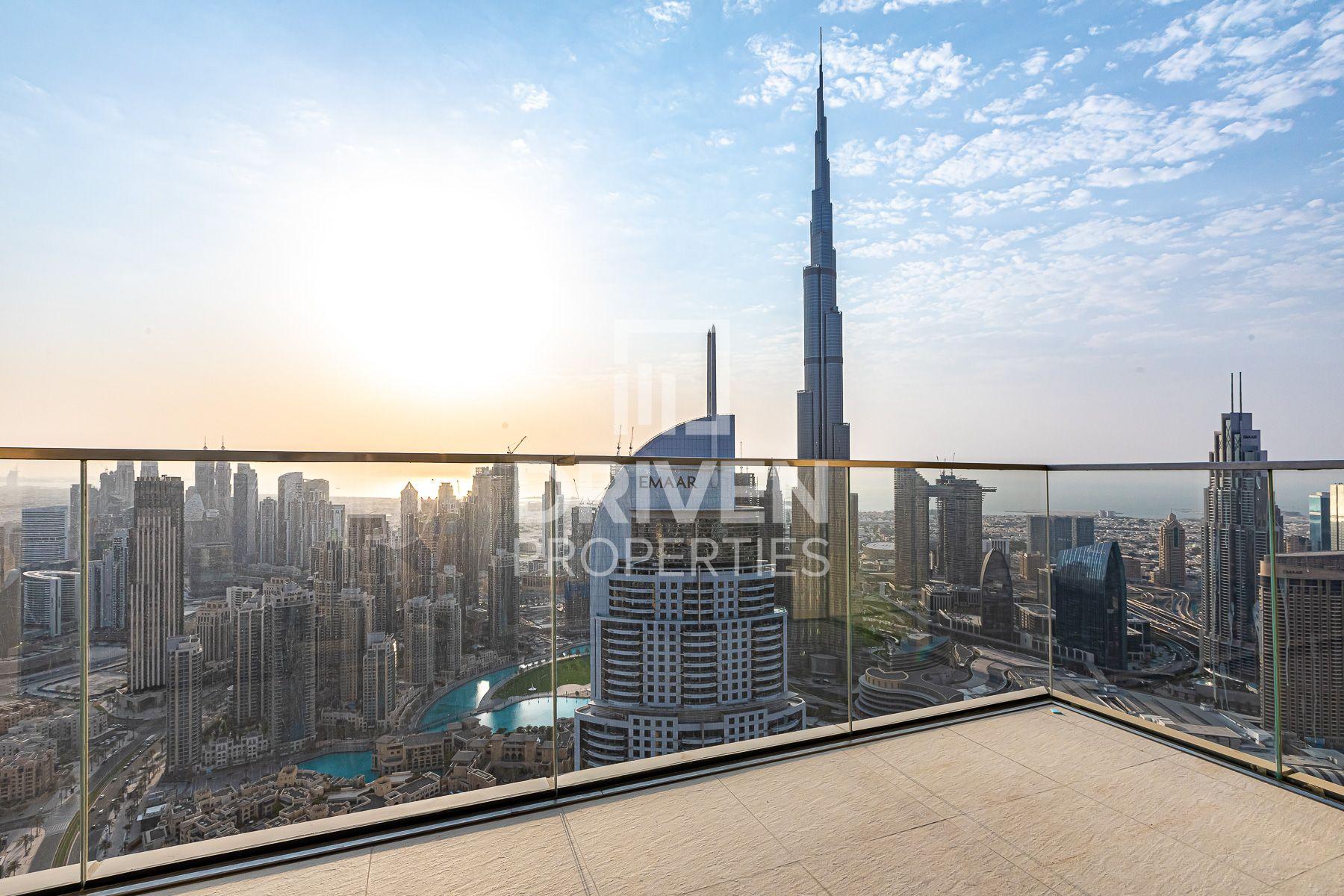 Triplex Penthouse, Burj and Fountain View