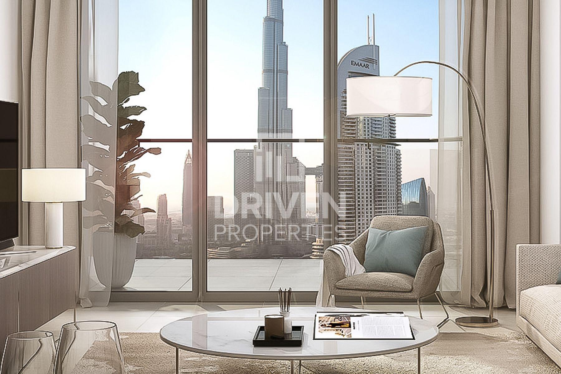 Limited | Payment Plan | Burj Khalifa View