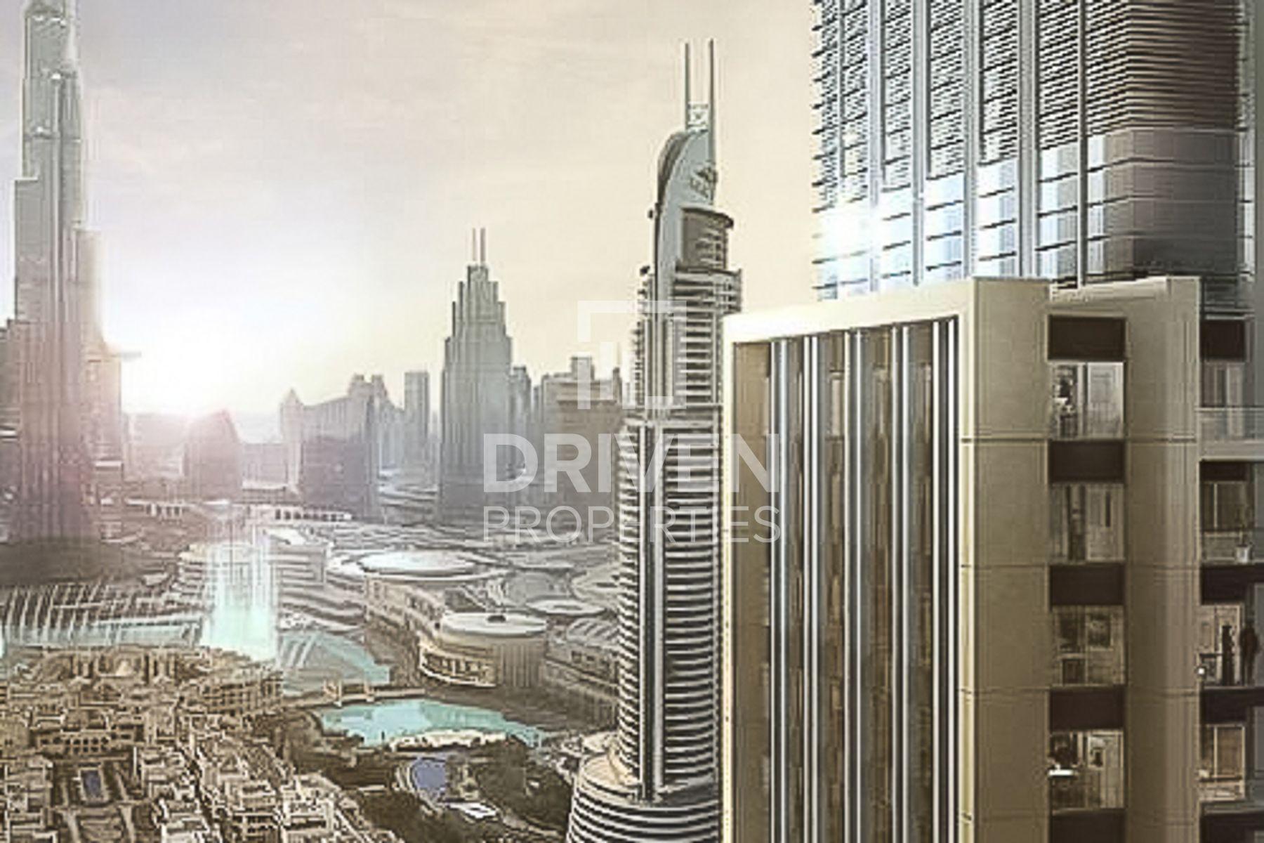 للبيع - شقة - برج رويال - دبي وسط المدينة