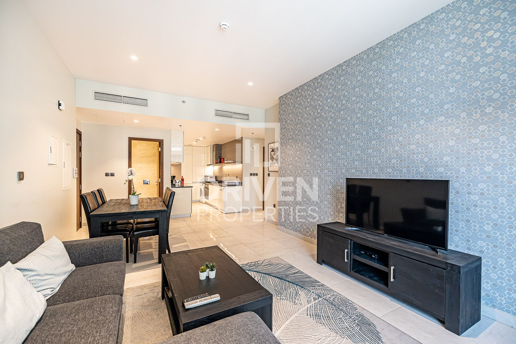 Bright and Fully Furnished Apt with Nice View