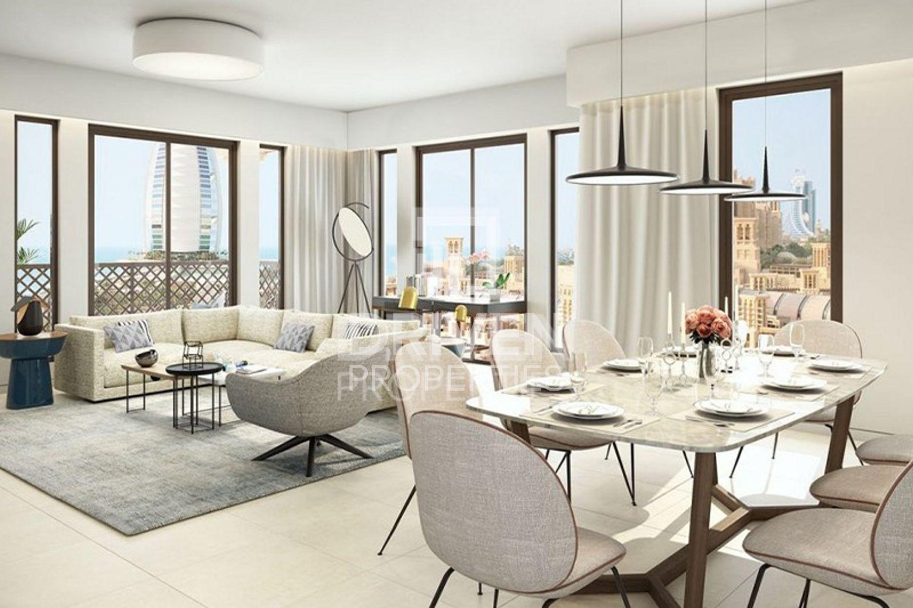1,378 قدم مربع  شقة - للبيع - أم سقيم