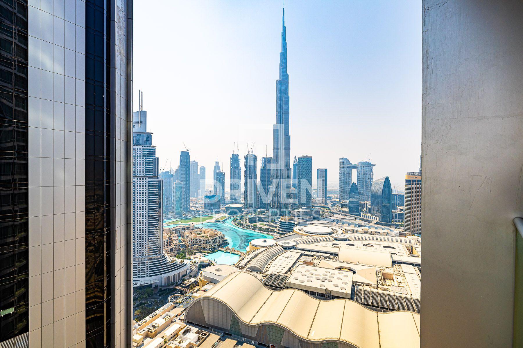 Burj Khalifa & Fountain Views | High Floor