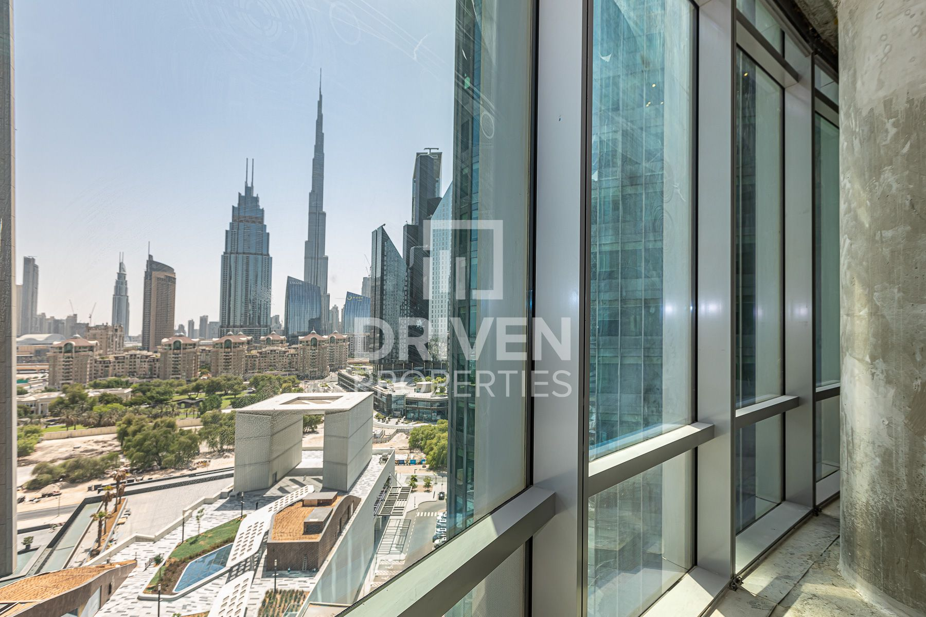 Shell and Core and Spacious Office, Burj View