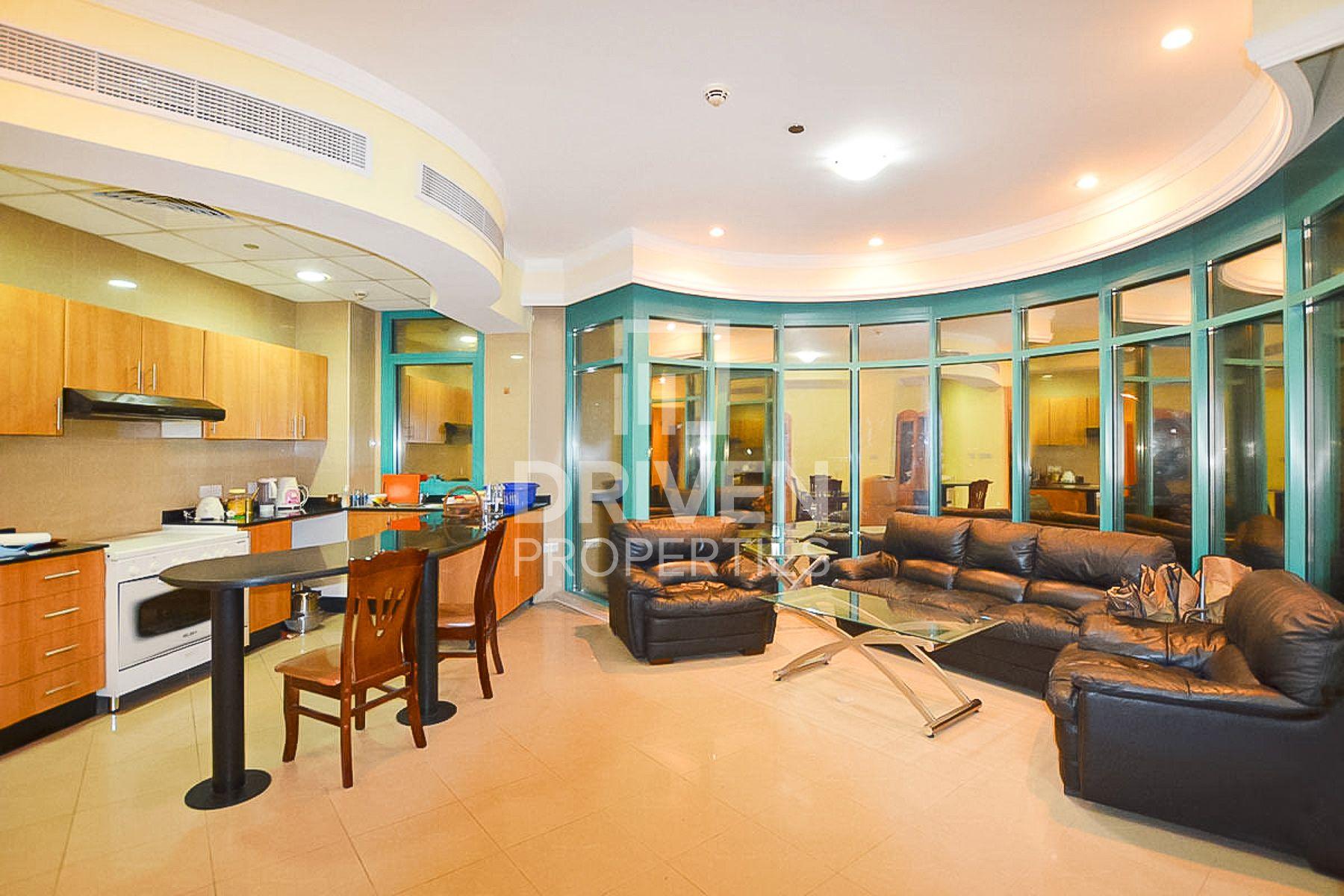 1,457 قدم مربع  شقة - للايجار - دبي مارينا