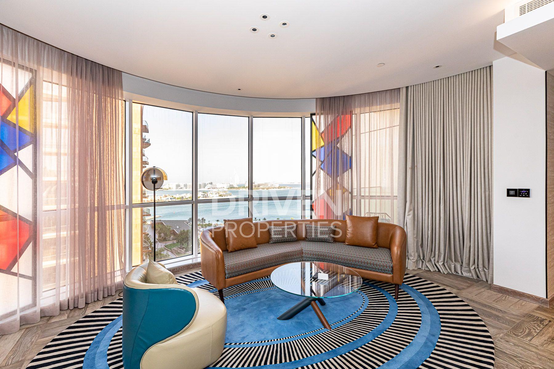 للايجار - شقة - انداز دبي ذا بالم - نخلة الجميرا