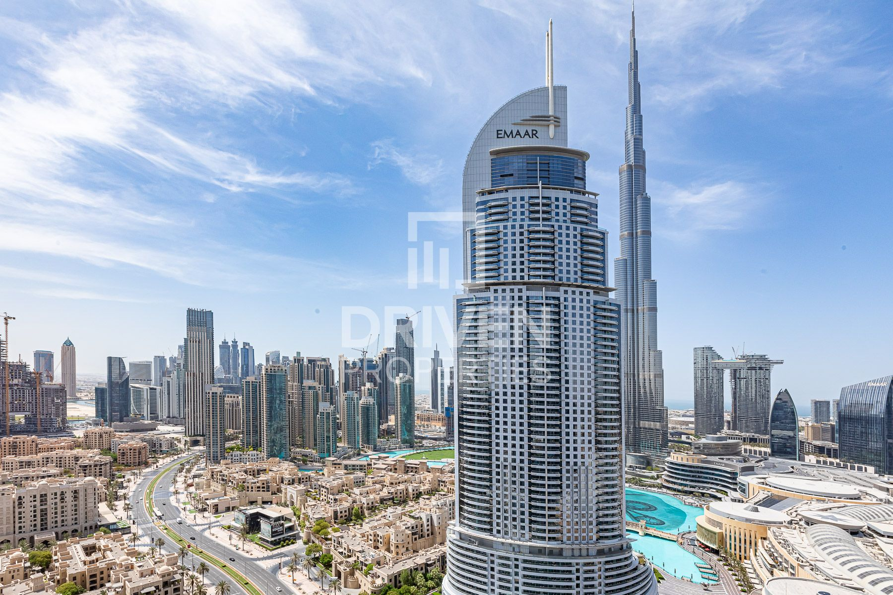 3 Bed Apt on High Floor, Burj Khalifa View