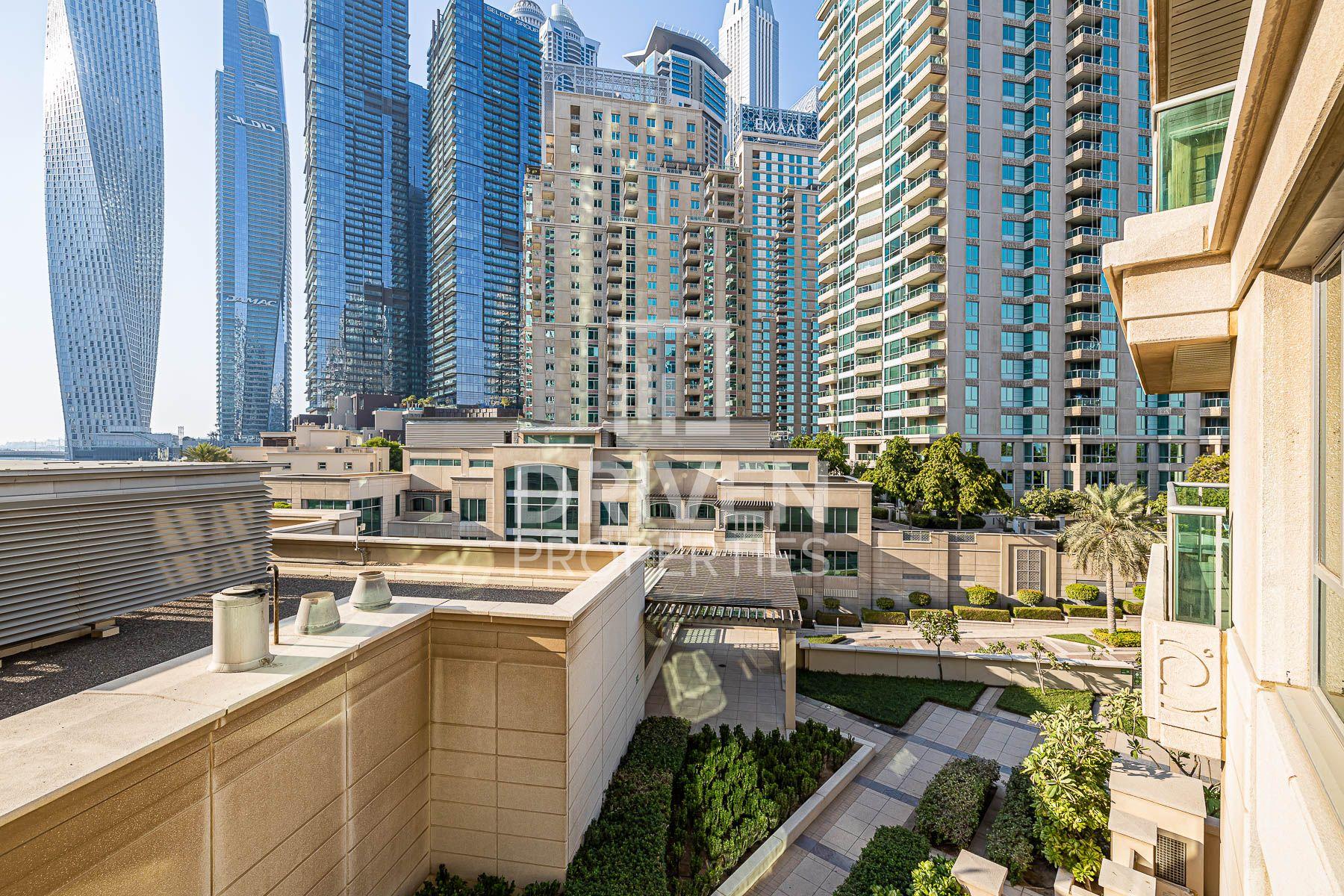 للايجار - شقة - برج المسك - دبي مارينا