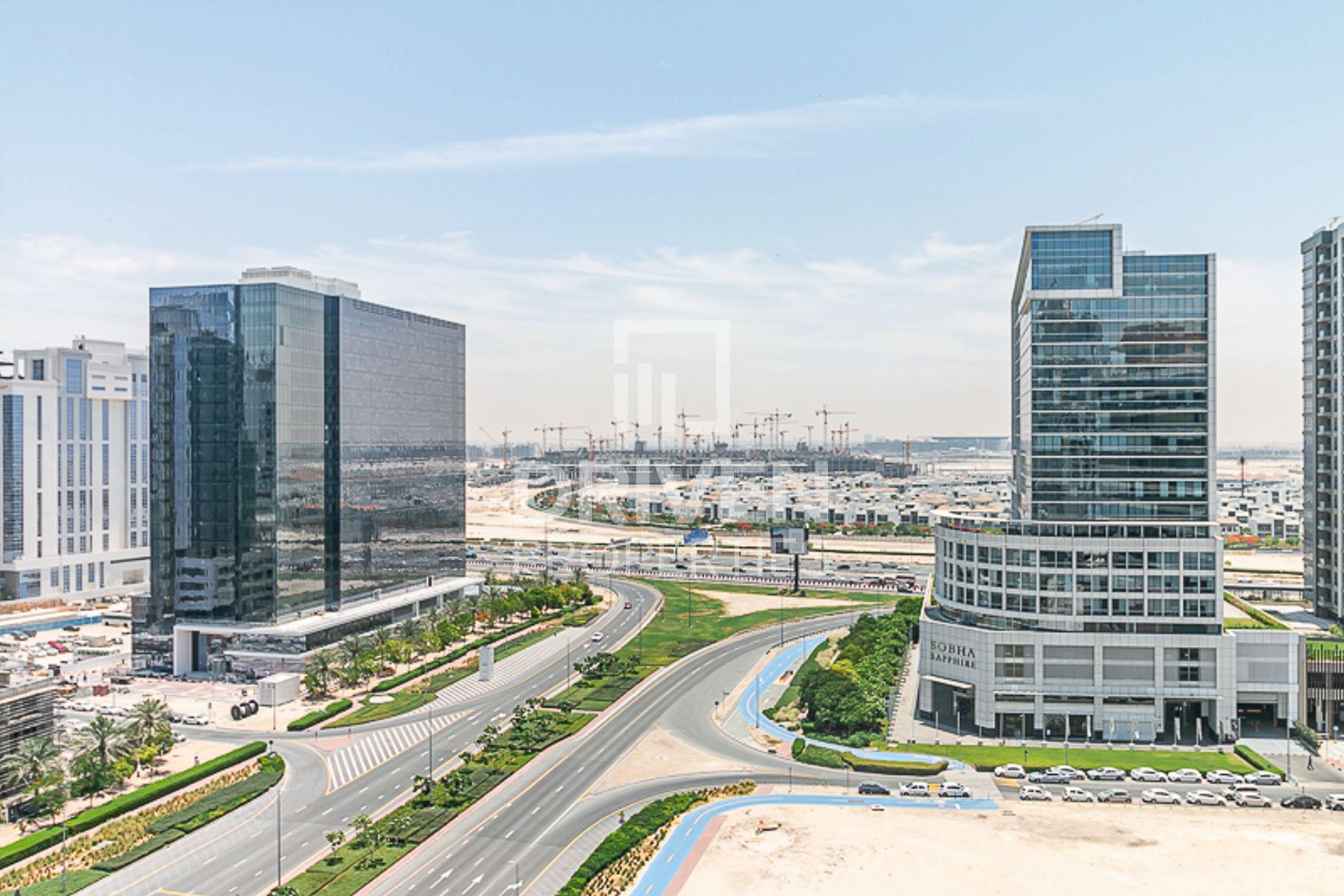 للايجار - شقة - SOL Bay - الخليج التجاري
